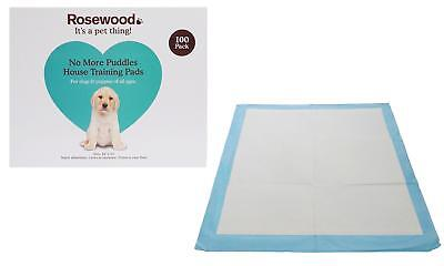 100 Super Absorbent Dog Puppy Training Pee Pad 56 x 56cm Mat House Trainer LARGE