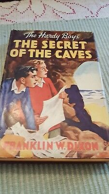 The Hardy Boys The Secret of the Caves cprt. 1929 w/orig. DJ