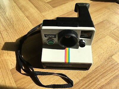 Vintage polaroid land camera 1000 Instant Film Body Only Great Used Condition