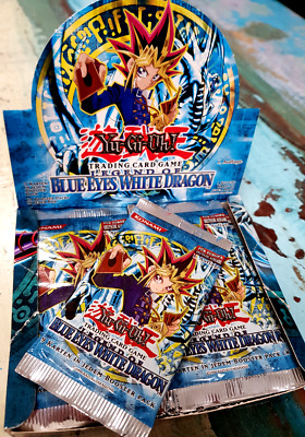 Legend of Blue Eyes White Dragon Booster - 1. Auflage Deutsch !!!! Einzelbooster