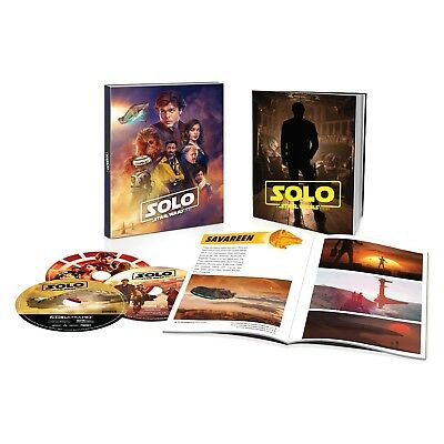 Target Exclusive Solo: A Star Wars Story Blu-Ray & 4K/UHD With 40 Page Book LE
