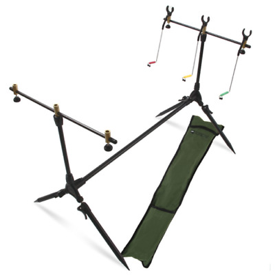 Fishing Rod Pod With Rests & Indicators