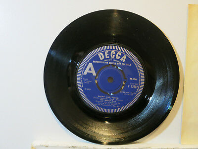 """The Mixed Bag - Round and round - Rock 7"""" 1969 Decca UK + """"A""""-Demo Near Mint"""