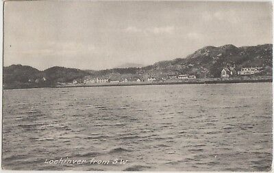 LOCHINVER From South West SUTHERLAND Scotland Town Vintage PC c1920s