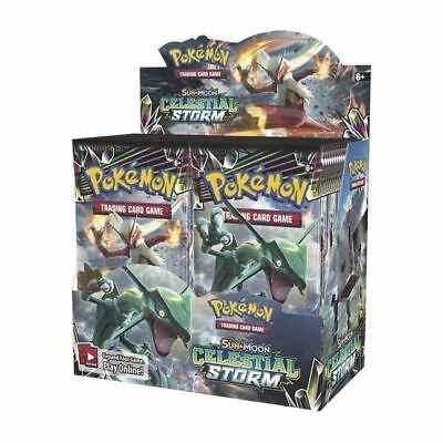 Pokemon TCG. Sun&Moon Celestial Storm. 1/9 Booster Box. Low Shipping $
