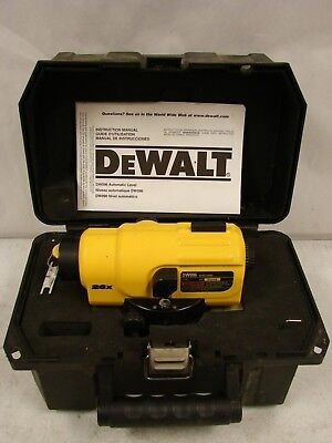 Dewalt Heavy Duty Auto Level DW096 Type 1