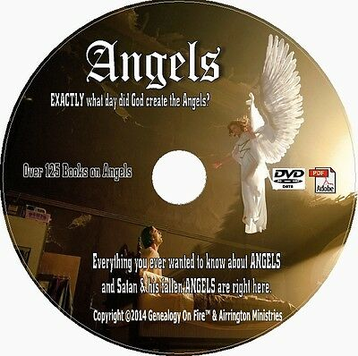 ANGELS ANGELOLOGY RELIGION CHRISTIANITY  100+ RARE ANCIENT BOOKS on DVD *