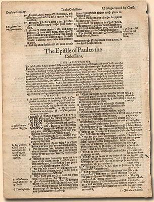 Affordable Geneva Bible Leaves : Geneva Bible 1560 - 1644 YOUR SELECTION*