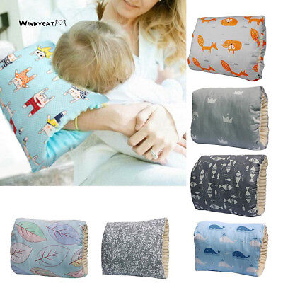 Soft Arm Resting Pillow Nursing Pillows For Infant Baby Reading Back Mini Comfy