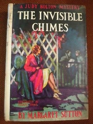 Vtg. Bolton Mystery Book Invisible Chimes HC DJ Margaret Sutton 1932 1st Edition