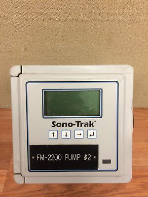 Sono-Trak ST30 Ultrasonic Flow Meter Used Working Free Shipping