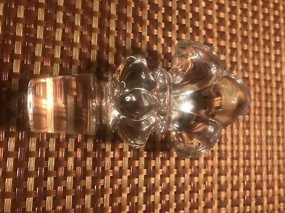Remy Martin Louis XIII Cognac Decanter Baccarat Fleur-de-lys Bottle Stopper ONLY