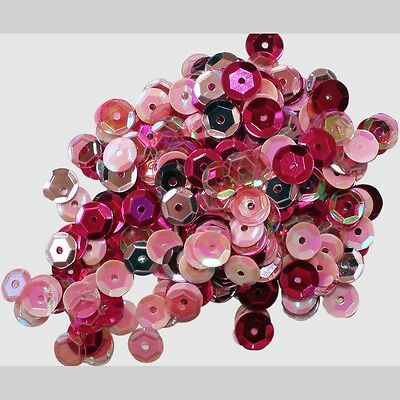 Clear Scraps Sequin Multi Pack 350 To 400 Pieces -Princess
