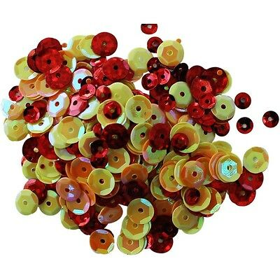 Clear Scraps Sequin Multi Pack 350 To 400 Pieces -Summer