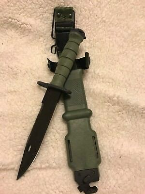 NEW Ontario M9 Bayonet Fighting Knife w/ Scabbard