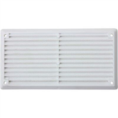 Map White Plastic Vent Louvre, 6 x 3 152mm x 76mm (3900sq Mm)
