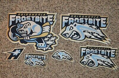 CHOICE of: Adirondack Frostbite UHL Throwback Minor Hockey Jersey Jacket Patch