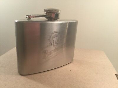Collectable Bundaberg Rum 4oz Stainless Steel Flask