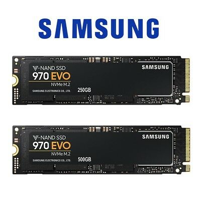 SamSung SSD 970 Evo 250GB 500GB Internal Solid State Drive Laptop M.2