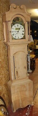 1875 30hour Grandfather Clock from Cardigan Antique Pine Case