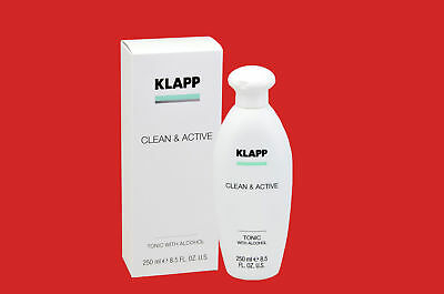 KLAPP Clean Active  TONIC WITH ALCOHOL 250 ml
