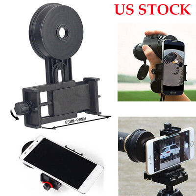 Universal Cell Phone Camera Adapter For Mount Binocular Spotting Scope Telescope
