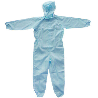 Lab Coverall Sprayer Boilersuits Overalls Fit 158cm, 50kg Below 3 Colors