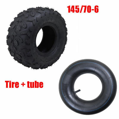 "145/70 -6"" inch Tyre Tire+Tube 90 110cc Mini Quad  Buggy ATV 4 Wheeler"