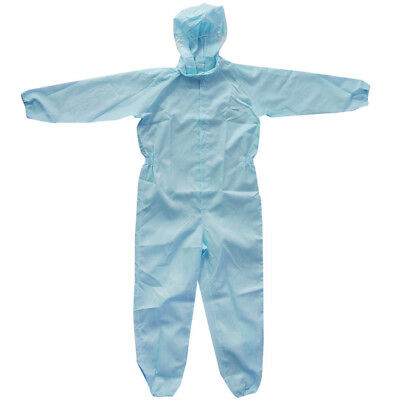 Small Size Protective Coveralls with Hood Antistatic Worksuit Clothes 158cm