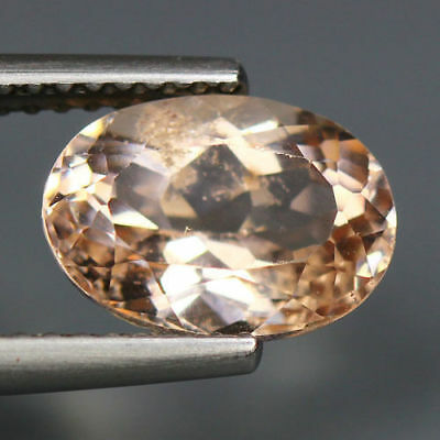 2.48 Cts_Rare Museum Vip Loose Gem Collectible_100 % Natural Morganite_Brazil