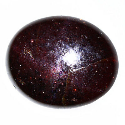 8.875 Ct Exclusive Brilliant! 100% Natural Top Red Garnet Star Unheated Cab !!!