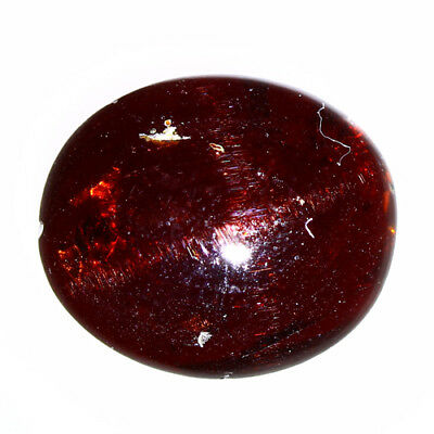 6.705 Ct Exclusive Brilliant! 100% Natural Top Red Garnet Star Unheated Cab !!!