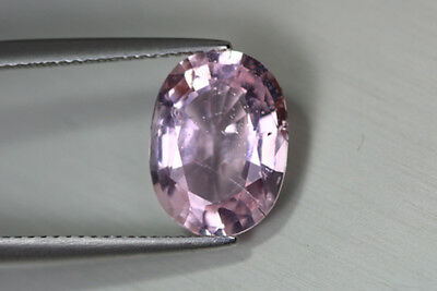 4.320 Ct Unique Ultra Rare 100% Natural Unheated Superb Pink Morganite Gem !!!