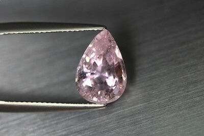 3.455 Ct Unique Ultra Rare 100% Natural Unheated Superb Pink Morganite Gem !!!