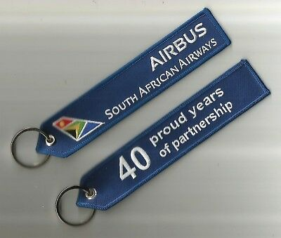 Porte Cle Flamme Airbus Airbus South African Airways - Neuf