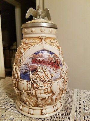 "Avon ""Worlds Famous Clydesdales Hitch"" Stein"
