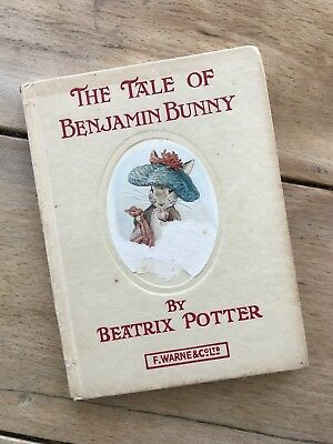 1st Edition Beatrix Potter- Tale Of Benjamin Bunny