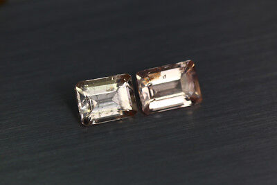 2.380 Ct Unique Ultra Rare 100% Natural Premium Aaa Pinkish Color Morganite !!!