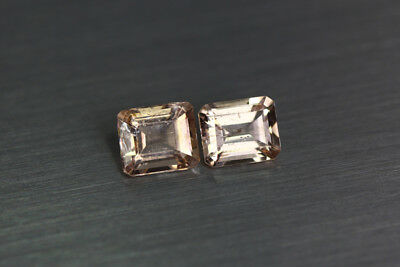 2.100 Ct Unique Ultra Rare 100% Natural Premium Aaa Pinkish Color Morganite !!!