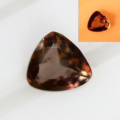 0.365 Ct  Earth Mined Unique Dazzling 100% Natural Dancing' Color Change Axinite