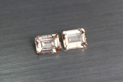 1.985 Ct Unique Ultra Rare 100% Natural Premium Aaa Pinkish Color Morganite !!!