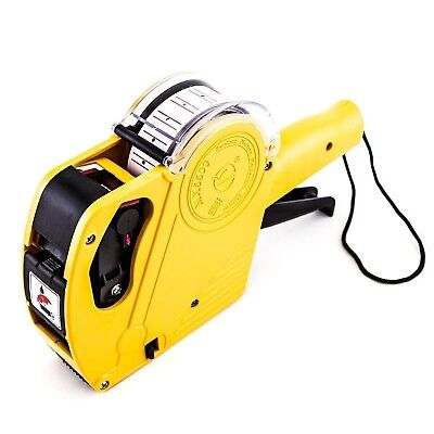 8 Digits Price Numerical Tag Gun Label Maker MX5500 EOS with Sticker Labels &...