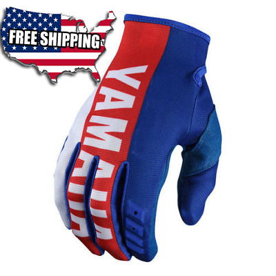 2018 Motocross Glove Troy Lee Designs TLD/Yamaha RS1 Blue GP Gloves