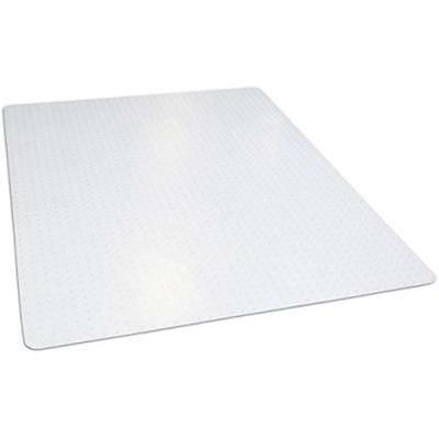 "46""x 60"" Carpet Chair Mats Clear Rectangle Office For Low Pile Carpet, Made In"