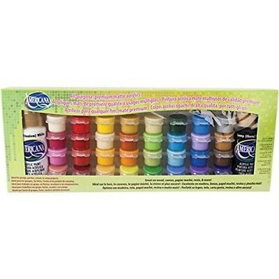 Deco Art Americana All-purpose Acrylic Paint Pot Value Pack 34 Kg-matte -