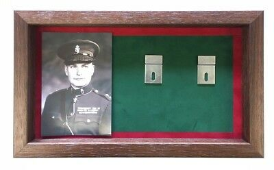 Large RUC Medal Display Case With Photograph For 5+ Medals.
