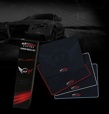 Gt Omega Racing Durable Water Resistant Grip Mousemat Various Colours And Sizes