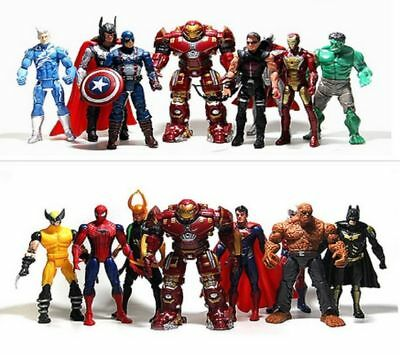 Marvel Avengers Superhero Action Figure Batman Superman Hulk Collection new