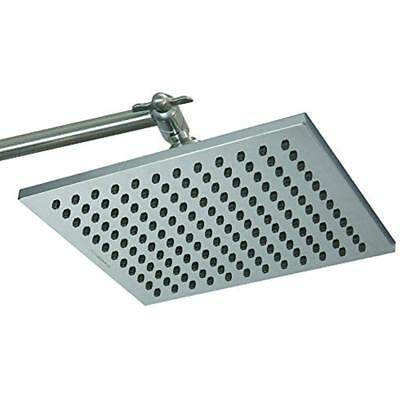 Premium 8 Fixed Showerheads Inch Square High Pressure Luxury Spa Rainfall Head-