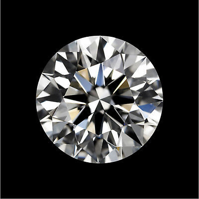 Natural White Diamond H Color 0.43cts 5mm Round Shape VVS1 Clarity